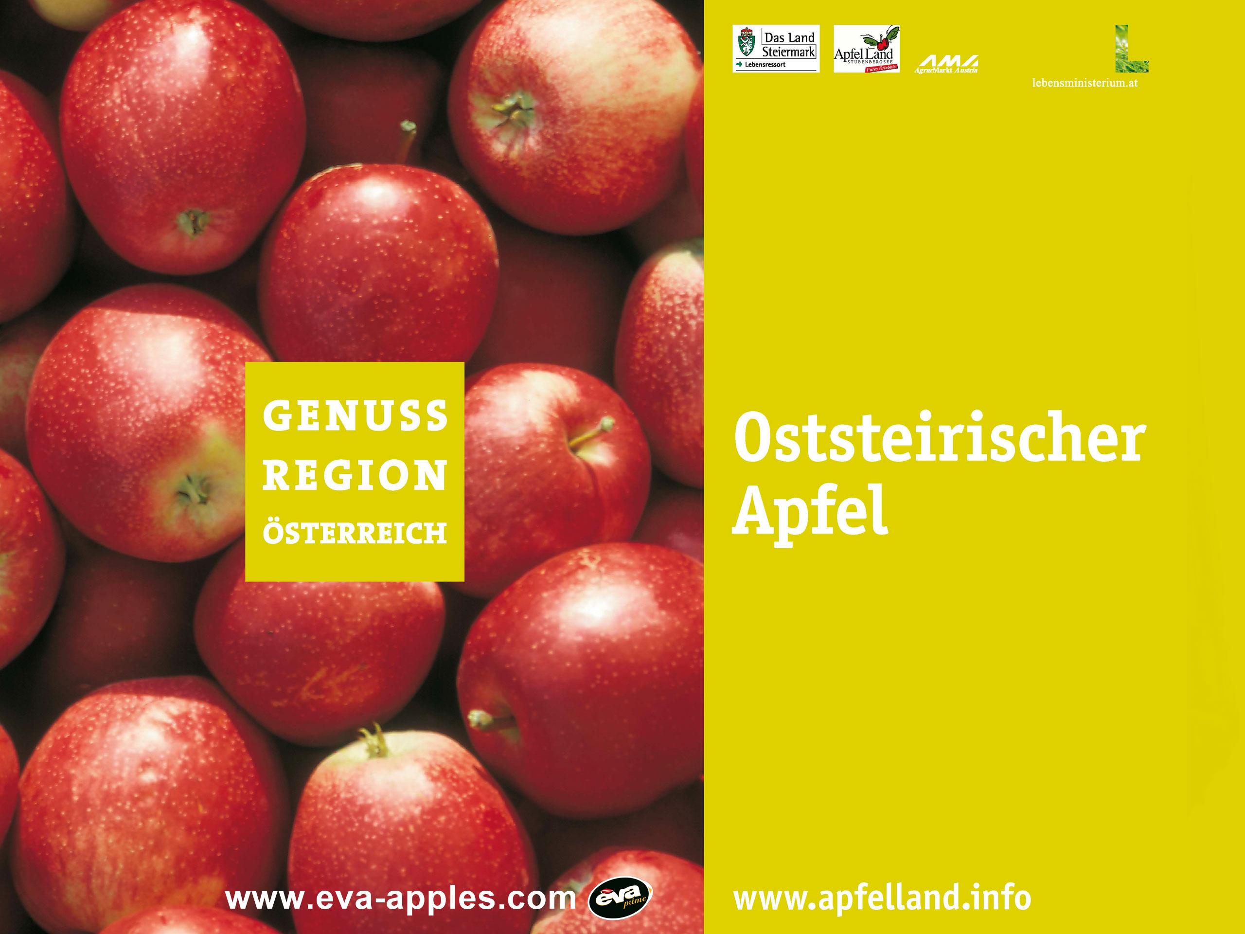 Genussregion Österreich EVA Apples